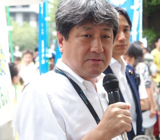 田城郁前参議院議員(JR総連)