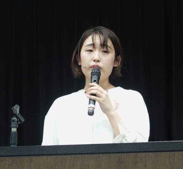 金澤佑華さん(HPVワクチン薬害東京訴訟原告)