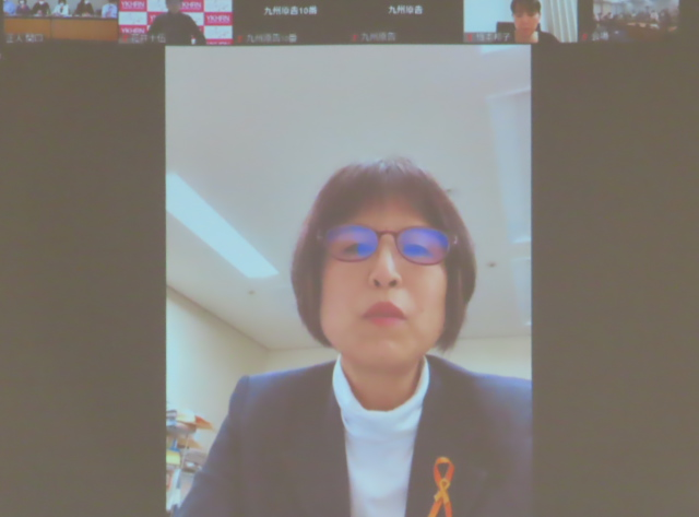 曽根文子さん(HPVワクチン訴訟東京支援ネットワーク・杉並区議会議員)