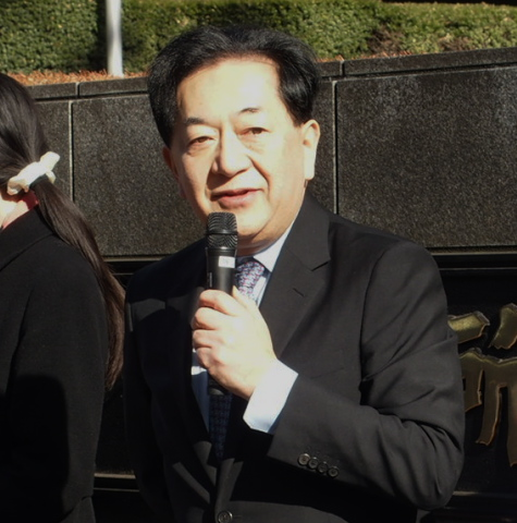 田中康夫さん(作家)
