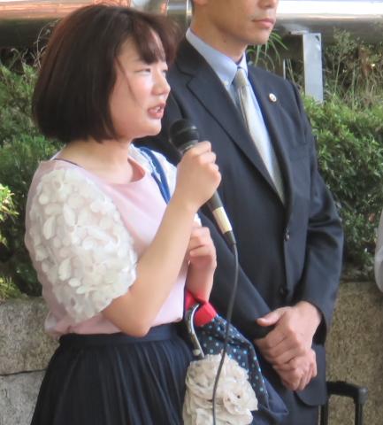 神田沙也加さん(名古屋訴訟支援ネットワーク世話人・薬剤師)
