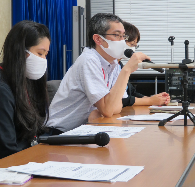 合同会議の議論の問題点を説明する小池純一弁護士