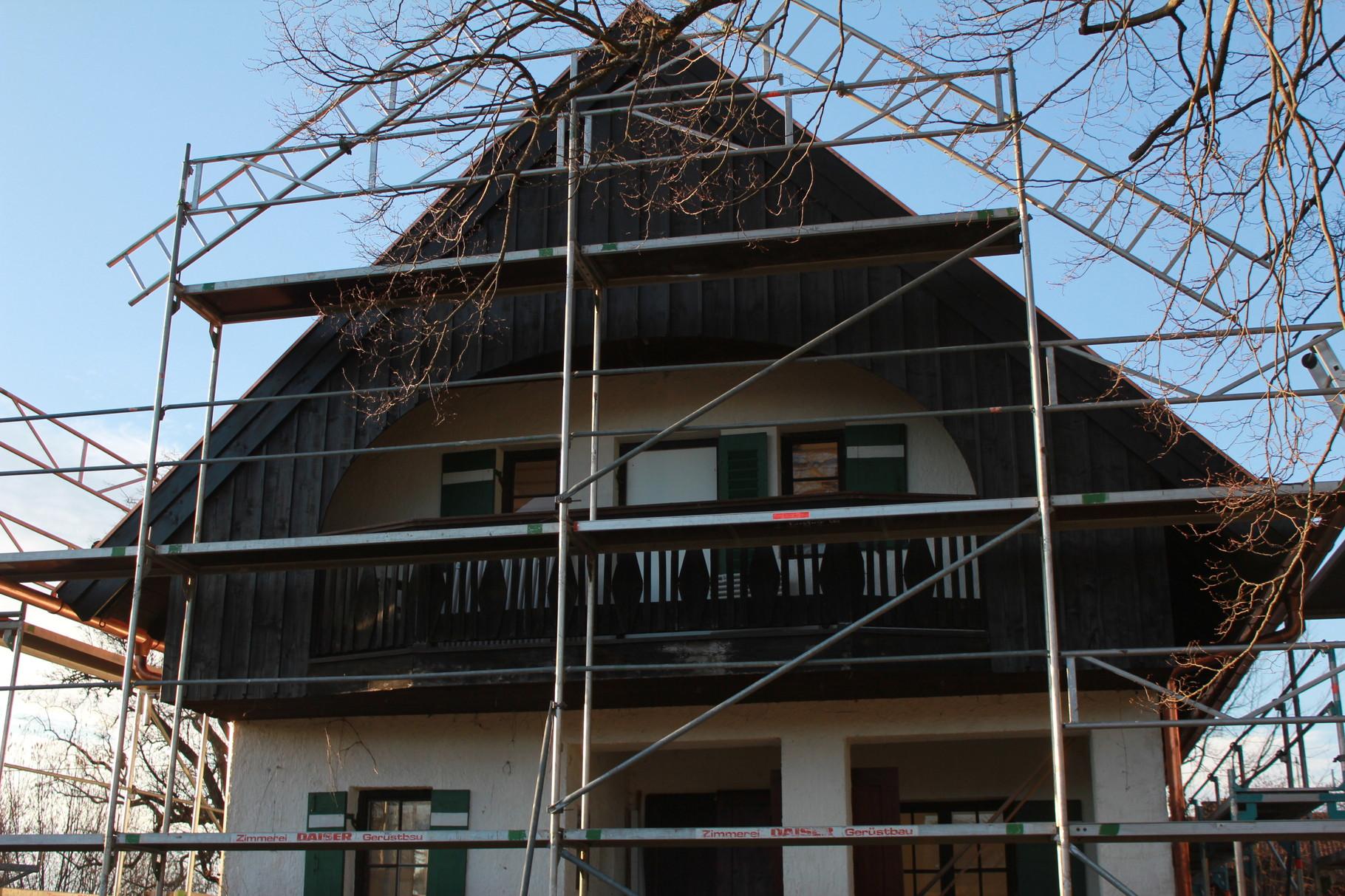 Altbausanierung An Denkmalgeschützen Gebäuden