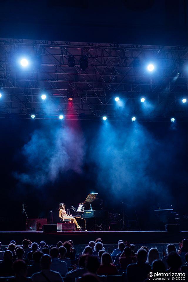 Apertura concerto di Peppino di Capri 8 agosto 2020