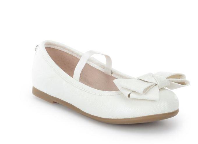 0da49e4ae719 43.617 075 Blanco Bailarina triple lazo Mayoral - Moda y ropa ...