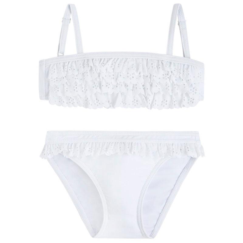 c32486842cd 3.728 016 Blanco Bikini volantes troquelados mayoral - Moda y ropa ...