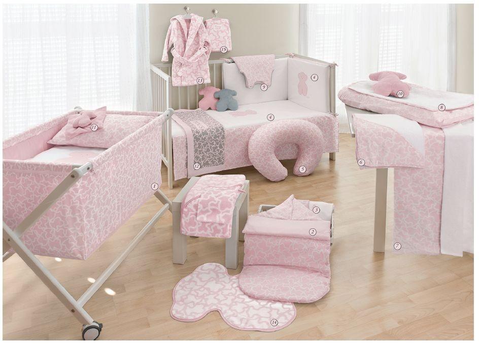 Hogar-habitación color rosaTous Baby
