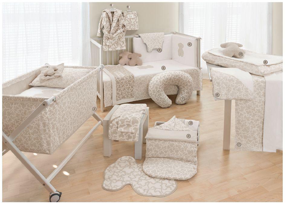 Hogar-habitación color beige Tous Baby