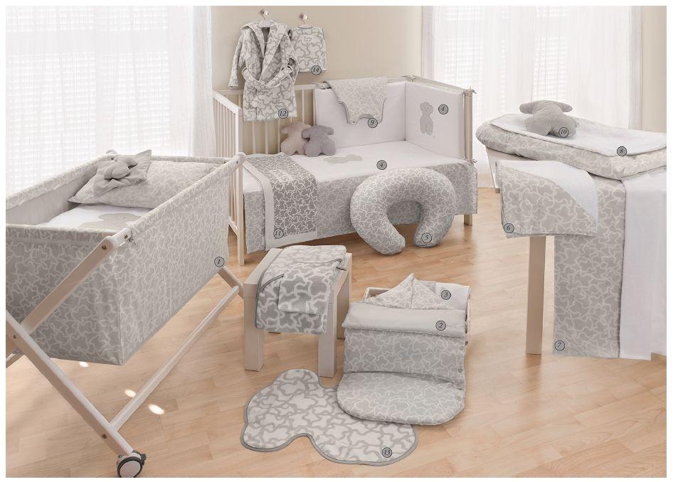 Hogar-habitación color gris Tous Baby