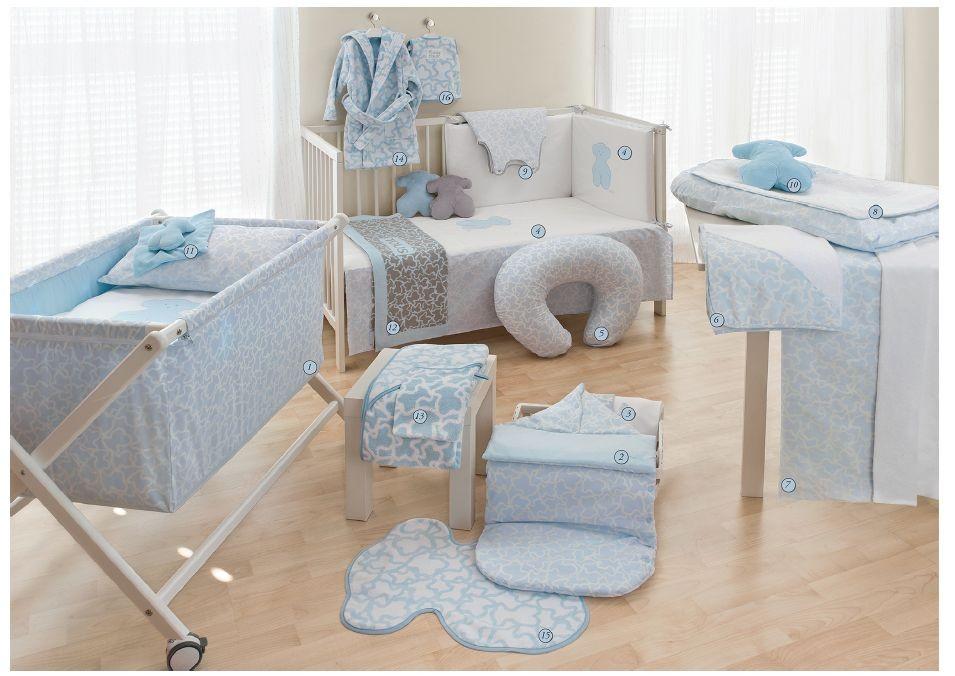 Hogar-habitación color azul celesteTous Baby