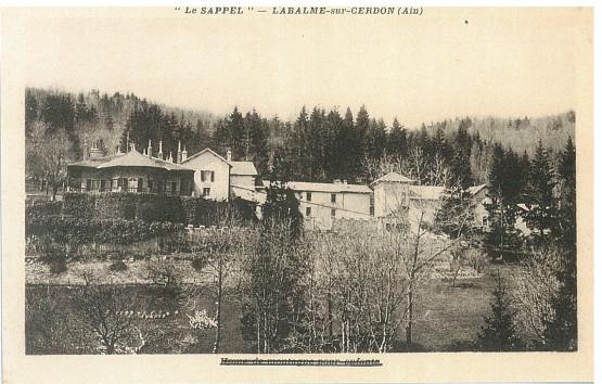 Le château du Sappel, dominant Vieu d'Izenave
