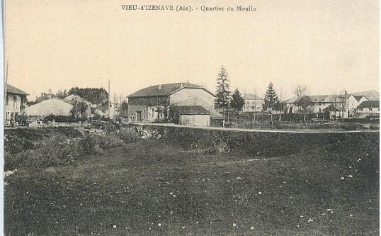 Le Moulin: Croisement route du Sappel depuis emplacement Bébert Mollie