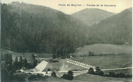 Meyriat: Ferme de la Courerie