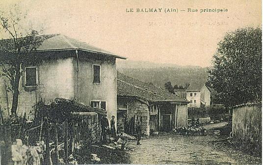 Le Balmay: Rue du tilleul (Maison Rose Larçon)
