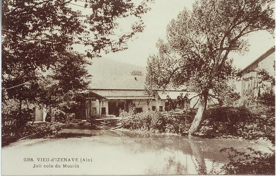 Le Moulin: l'étang
