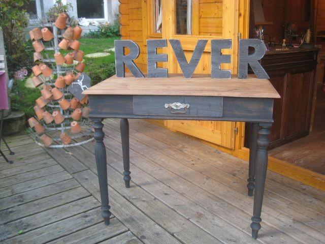 Table (sans les lettres) - vendu