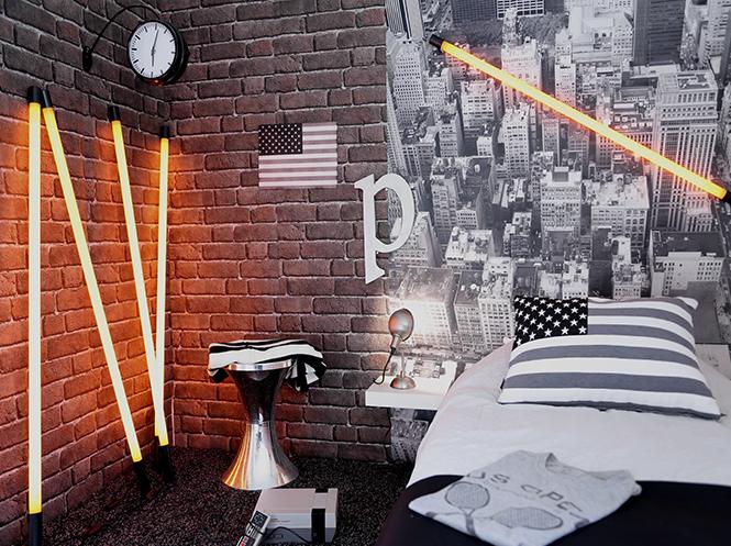 Une d coration de chambre tendance new york id claire d coration Chambre loft new yorkais
