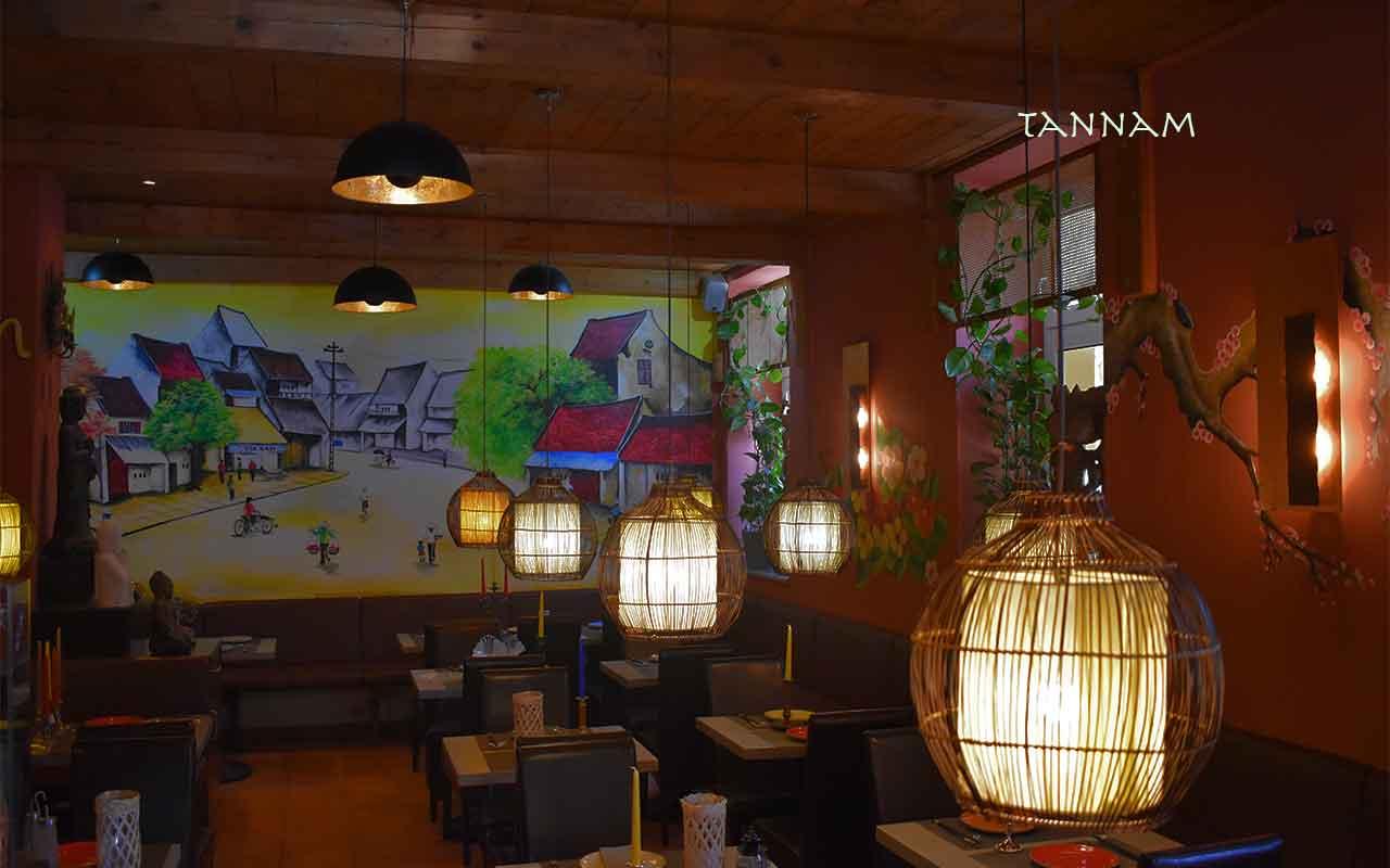 Vietnamesische Küche- tan nam Restaurant