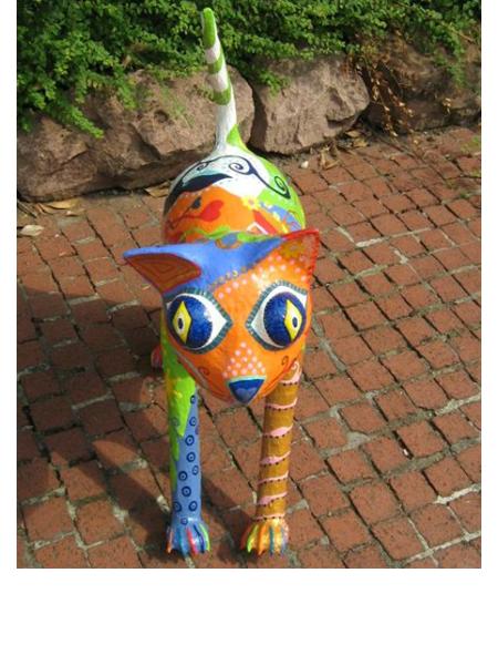Katze mau mau 2008, 70/55/23 cm