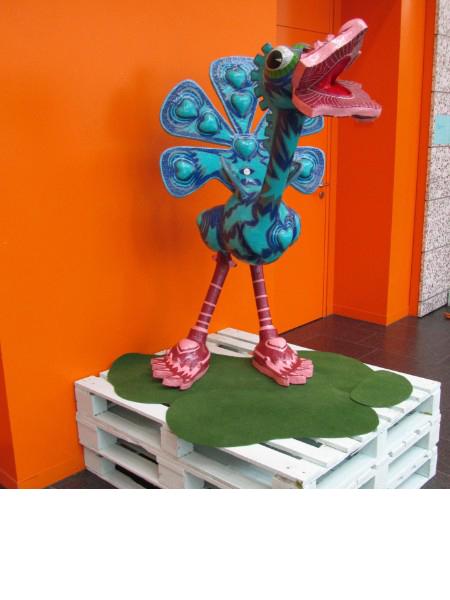 Vogel der Klarheit 2006, 145/76/88 cm