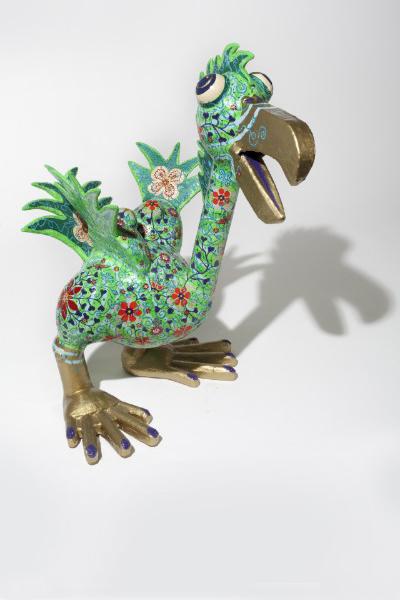 Glücksvogel 2010, 150/100/130 cm