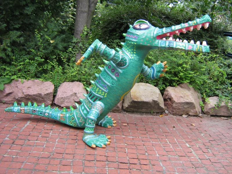 Krokodil 2004, 95/75/140 cm
