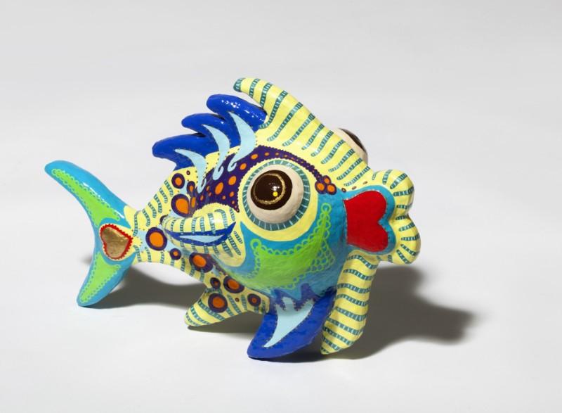 Fisch Filippo 2012, 36/28/54 cm