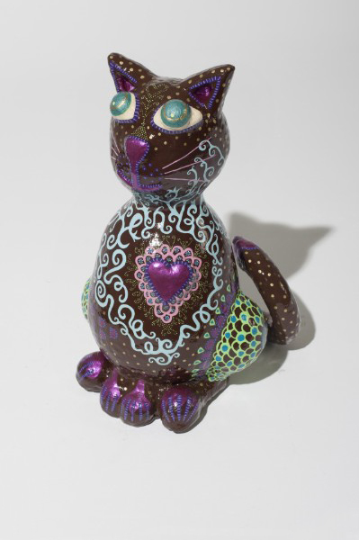 Katze Hortensia 2012, 65/45/45 cm