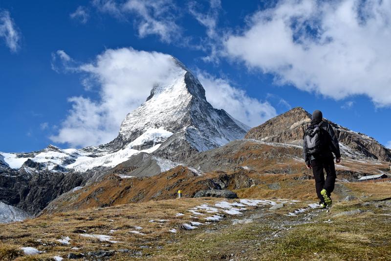 Wandern in Zermatt - Hörnlihütte