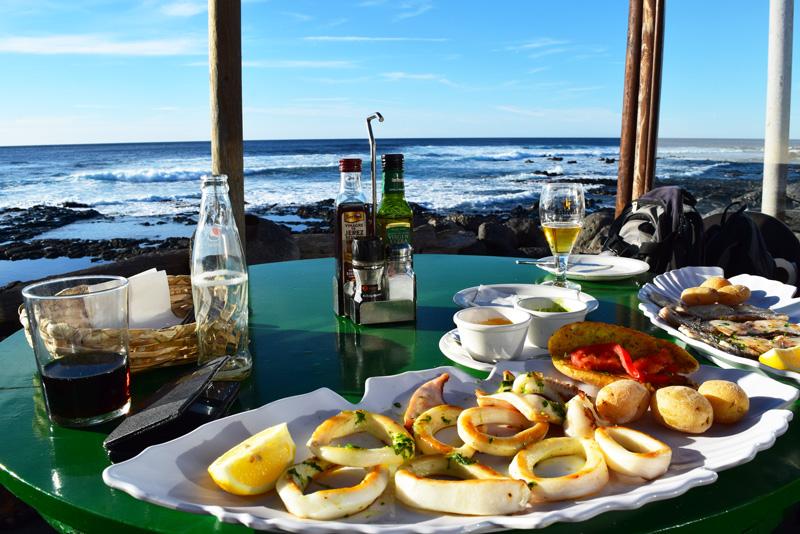 7 Days in Lanzarote - Dinner in El Golfo