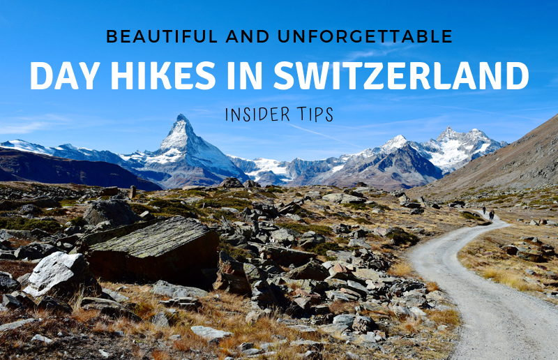 Beautiful Day Hikes in Switzerland