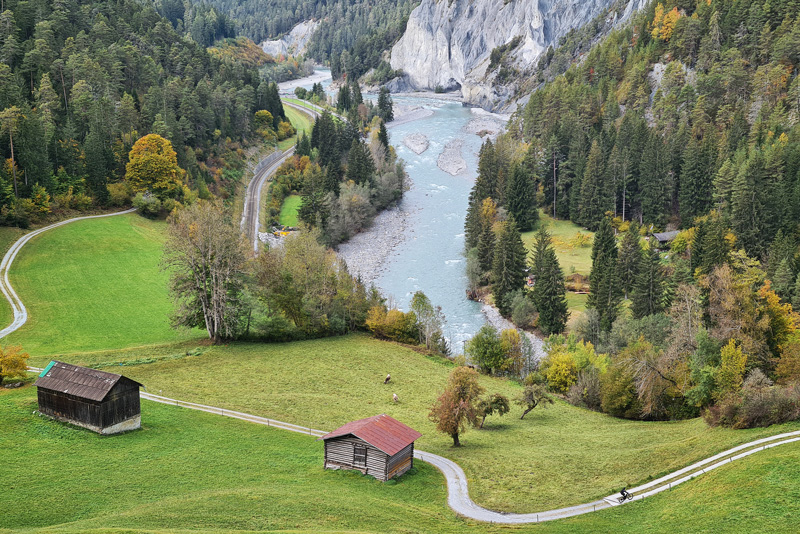 2020 Review - Rhine Gorge near Laax