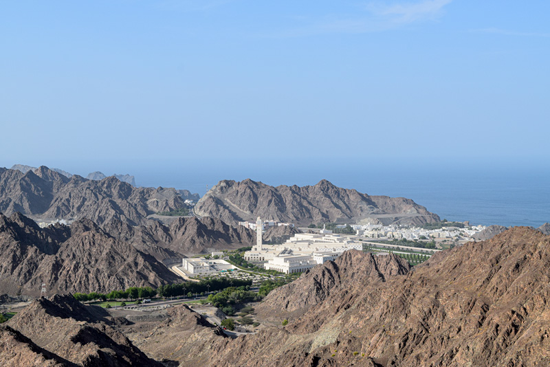 12 Days in Oman - Viewpoint near Mutrah
