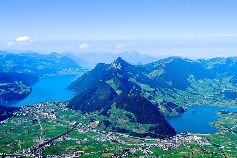 7 Tage in der Schweiz - Dein Reiseplan - Vierwaldstättersee