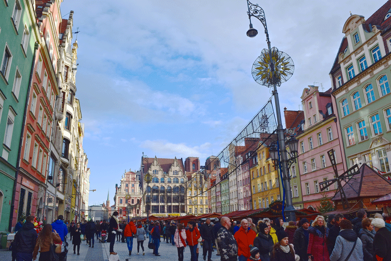Top Winter Destinations in Europe - Wroclaw, Poland
