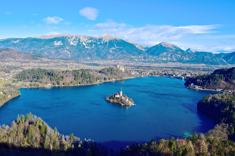 The Most Epic Places in Europe - Lake Bled, Slovenia