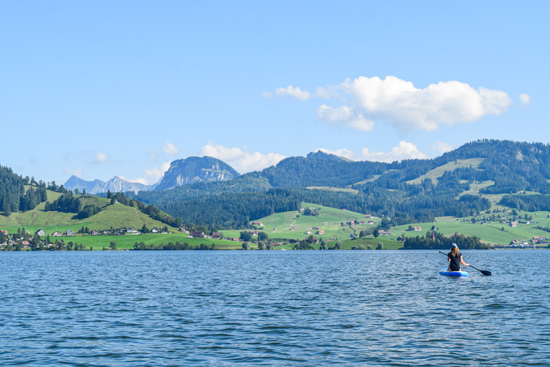 Top SUP Places in Switzerland - Sihlsee