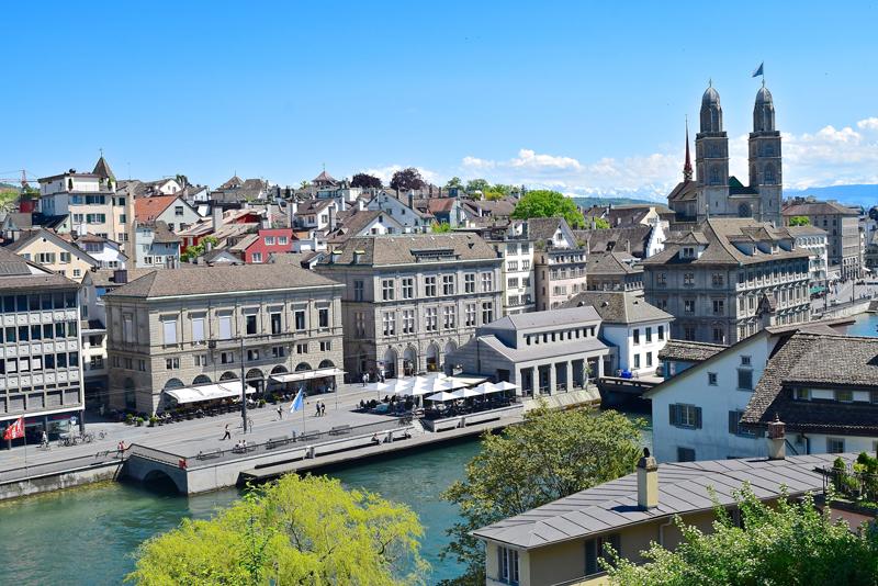 7 Tage in der Schweiz - Dein Reiseplan - Zürich