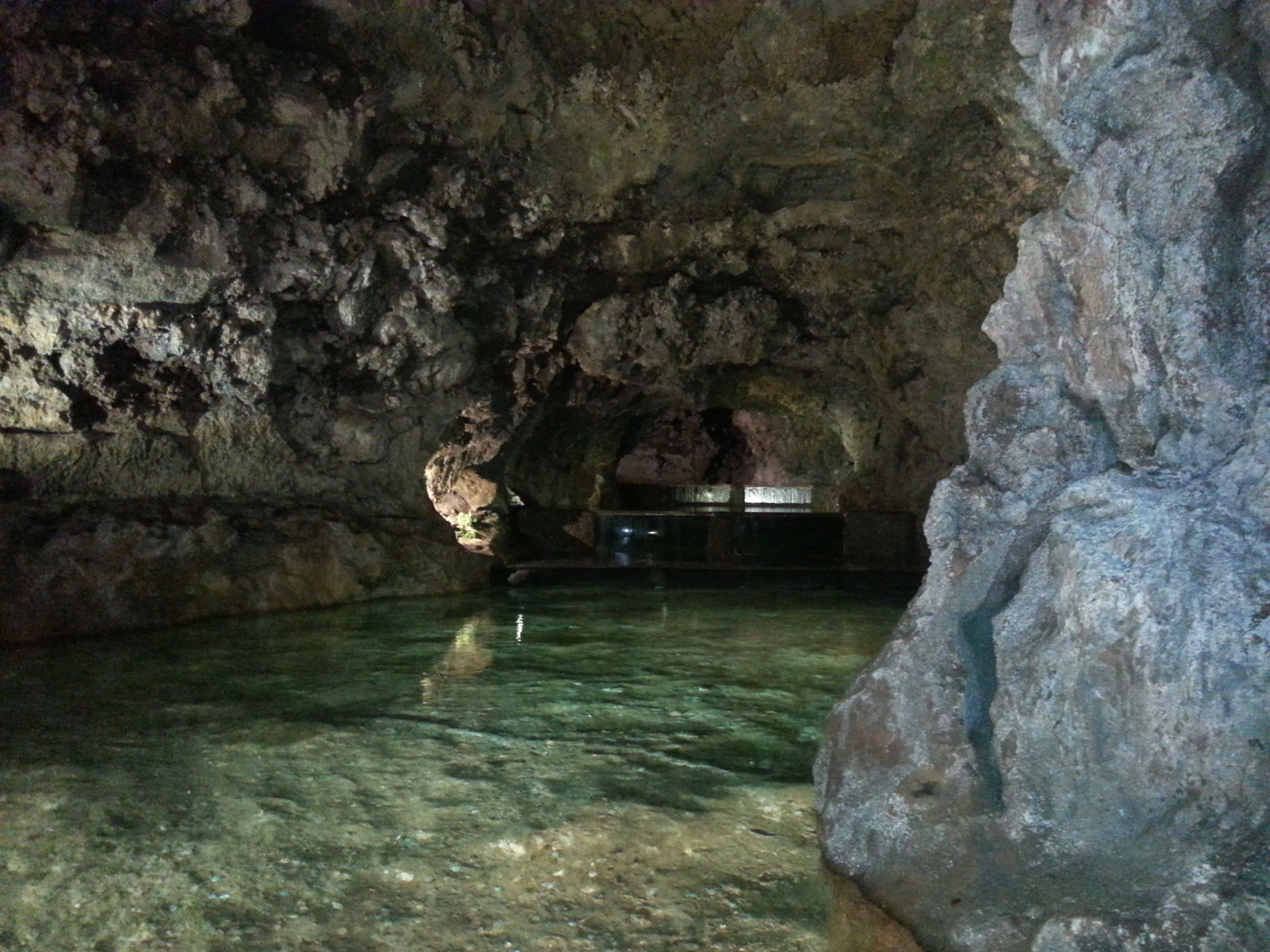 Volcanic caves in Ginjas