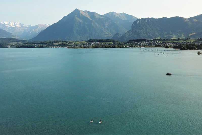 Top SUP Places in Switzerland - Thun Lake