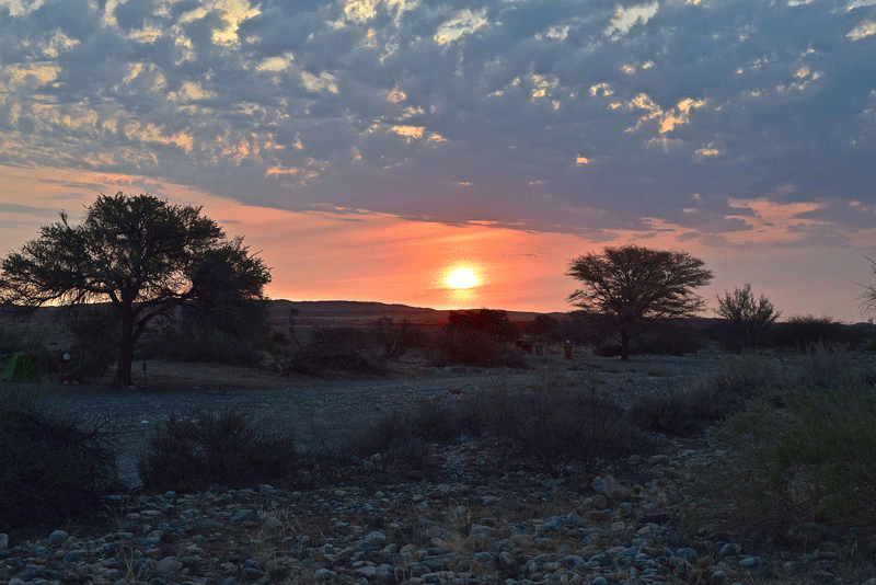 Is Namibia Worth Visiting - Sunset