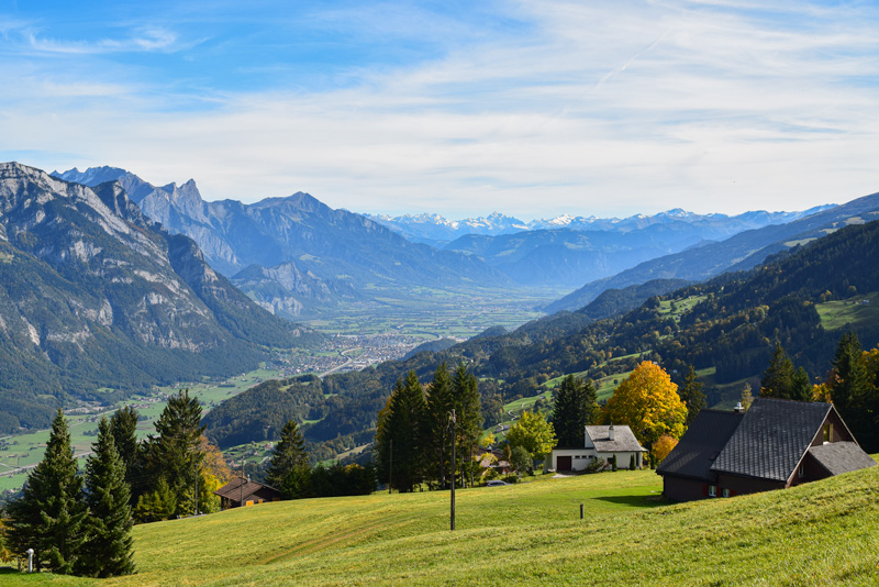 Beautiful Day Hikes in Switzerland - Podalp