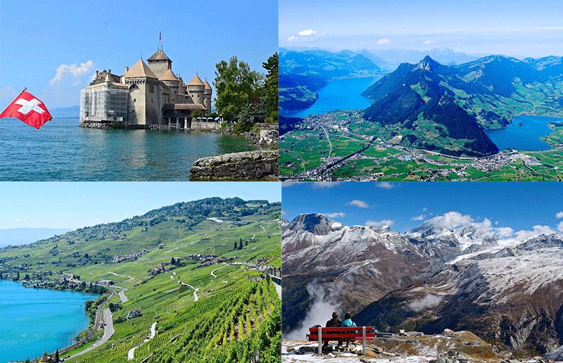 7 Tage in der Schweiz - Dein Reiseplan
