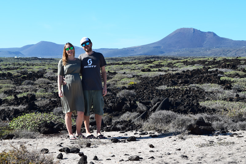 Travel Ideas for Pregnant Women - Lanzarote