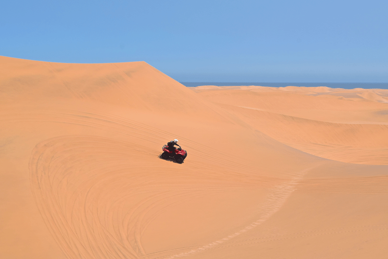 2 Weeks in Namibia - Your Ultimate Itinerary - Swakopmund - Quad Biking