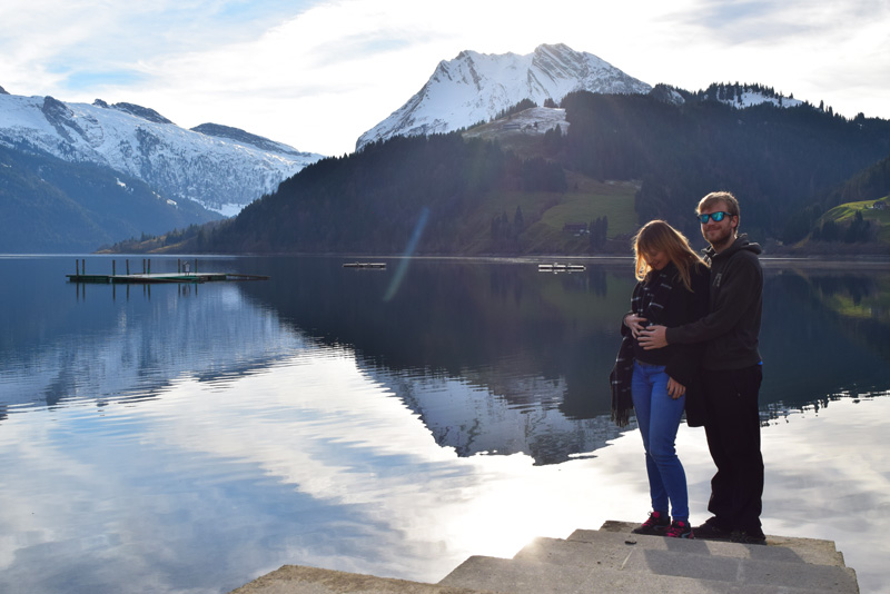 Travel Ideas for Pregnant Women - Winter Walks in Switzerland