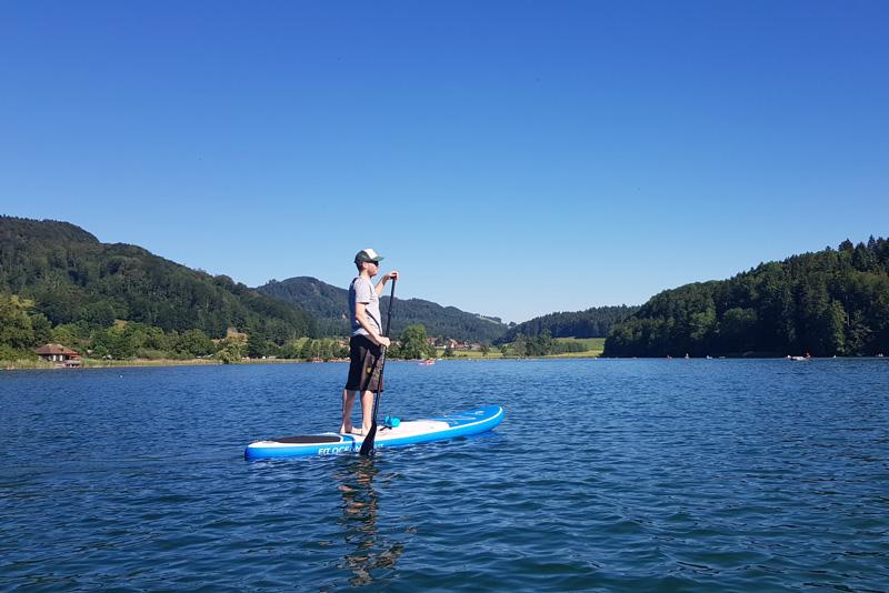 Top SUP Places in Switzerland - Türlersee