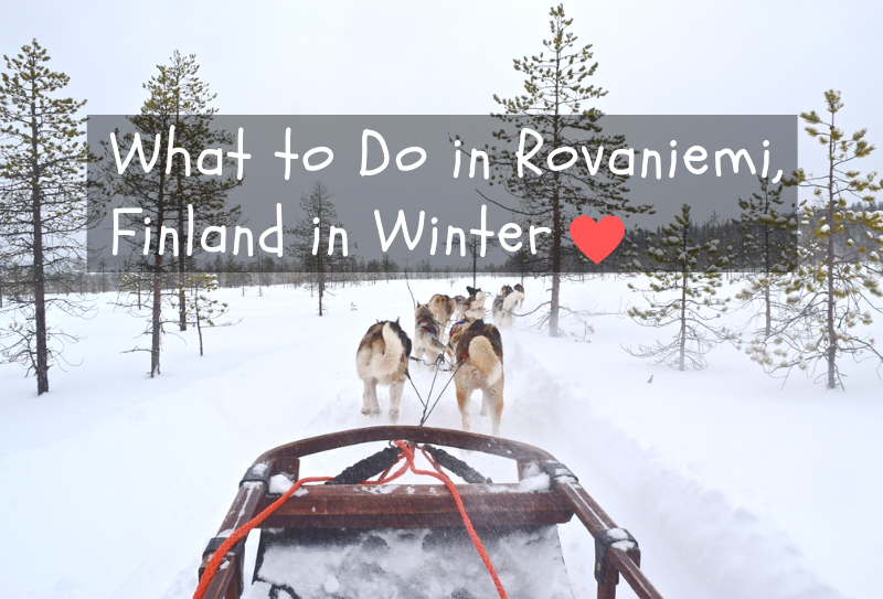 What to do in Rovaniemi in Winter - Finland