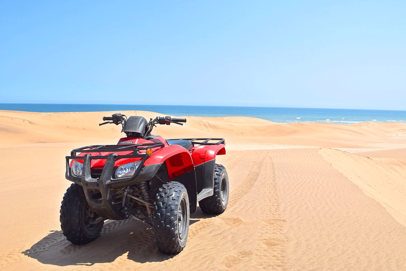 Is Namibia Worth Visiting - Quad Biking