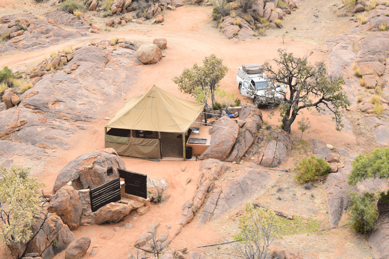 Is Namibia Worth Visiting - Camping